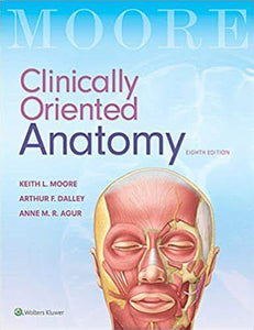 Clinically Oriented Anatomy, 8th ed.