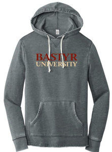 Bastyr Pullover Hoodie Washed Black