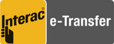 We accept Interac e-Transfer