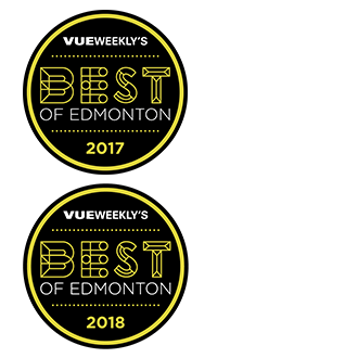 RCV Best of Edmonton Vape Shop Category 2017 and 2018
