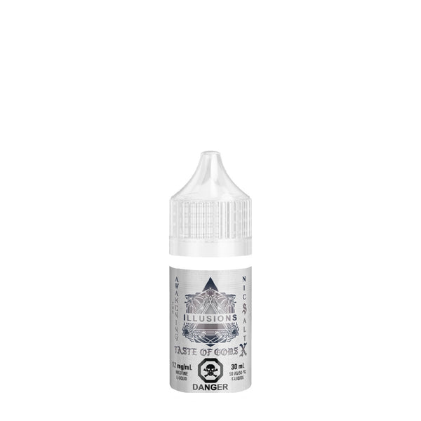 Taste of Gods X Salt Nic, e-Liquid, Illusions - River City Vapes