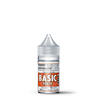Basic Peach Salt Nic, e-Liquid, RCV Basic - River City Vapes