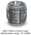 Joyetech Ornate Triple 0.15ohm Coils, Coils, Joyetech - River City Vapes