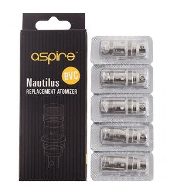 Aspire Nautilus BVC Coils, Coils, Aspire - River City Vapes