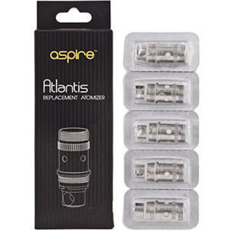 Aspire Atlantis Replacement Coils, Coils, Aspire - River City Vapes