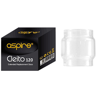 Aspire Cleito 120 5ml Replacement Glass - River City Vapes