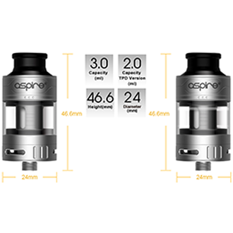 Aspire Cleito Pro, Tank, Aspire - River City Vapes
