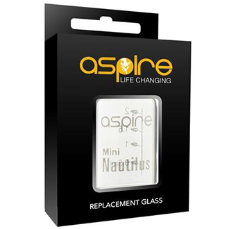 Aspire Nautilus Mini Replacement Glass - River City Vapes
