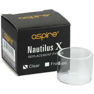 Aspire Nautilus X Replacement Glass, Tank Accessories, Aspire - River City Vapes
