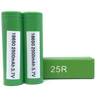 Samsung 25R 2500 mAh 18650, Battery, Samsung - River City Vapes