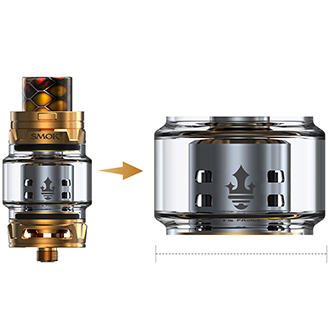 SMOK TFV12 Prince Replacement Glass, Tank Accessories, SMOK - River City Vapes