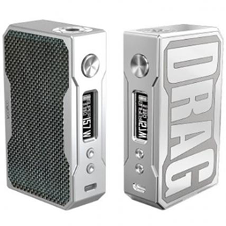 Voopoo Drag 157 Watt TC Mod Front and Back