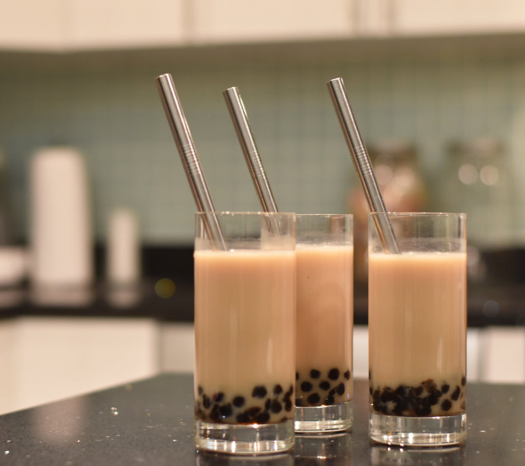 Make bubble tea at home with a bobagreen DIY bubble tea kit