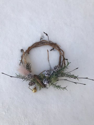 Wreath #4- These are a few of our favorite things...