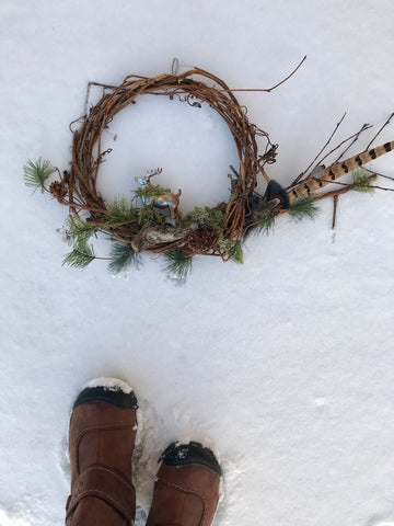 Winter Wreath- Let Heaven and Nature Sing