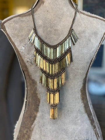 Vintage Antique Gold Necklace