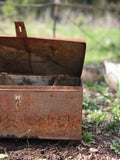 Rusted Tin Garden Box
