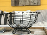 Big Black Wire Basket