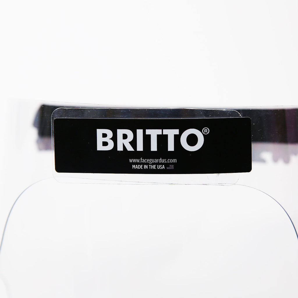 Britto reusable medical shield