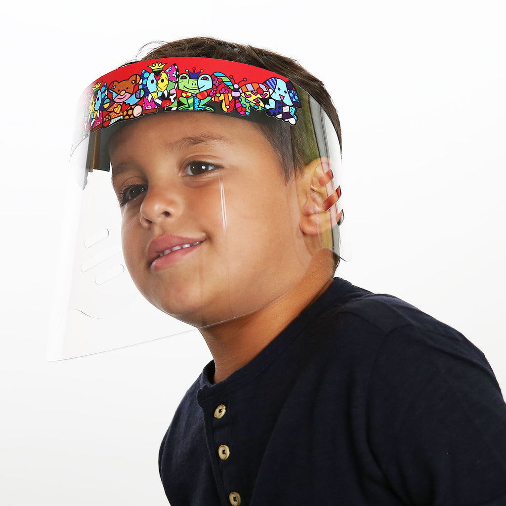 Britto kids face shield