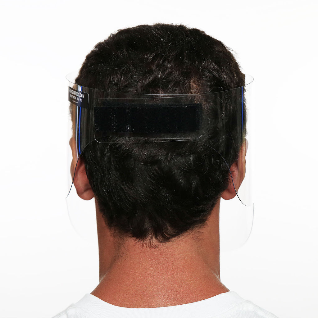 Adult medical faceguard