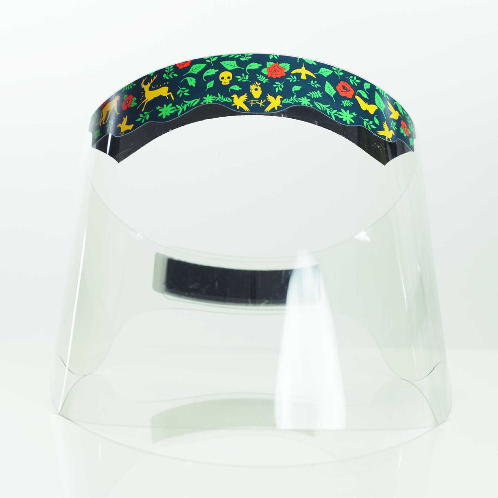 Frida Kahlo Wild Love face shield