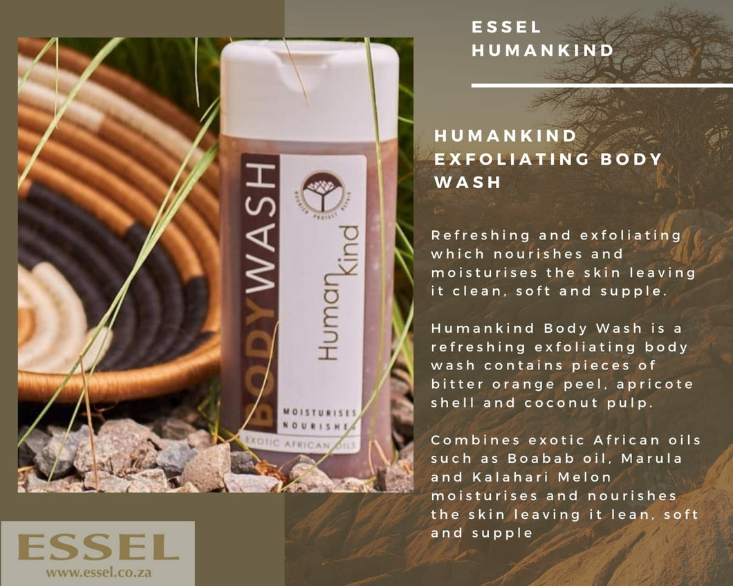 HumanKind Exfoliating Body Wash