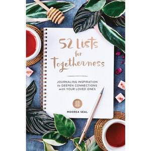 52 Lists for Togetherness Interactive Journal