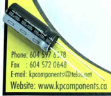 100uF 100V 105°C Electrolytic Capacitor/ UHE2A101MPD - Nichicon - Capacitor - KP Components Inc