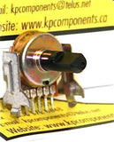 20K Ohm 16mm Potentiometer # POT-20K-A - Matsushita - Potentiometers - KP Components Inc