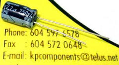 2.2uF 250V Electrolytic Capacitor 105°C Radial - G-LUXON - Capacitor - KP Components Inc