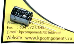 2.2uF 450V 105°C Radial Electrolytic Capacitor 10X12.5mm - G-LUXON - Capacitor - KP Components Inc