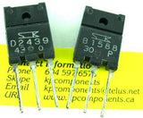 2SB1588 2SD2439 Matched Pair Transistors - Sanken - Transistors - KP Components Inc