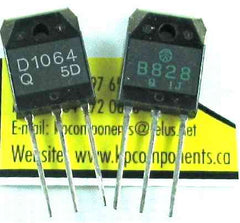 2SB828 2SD1064 Transistors Matched Pair