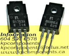 2SD1763A 2SB1186A Pair of Power Transistors - Rohm - Transistors - KP Components Inc