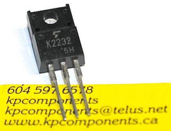 2SK2232 Toshiba MosFet K2232 - Toshiba - MOSFETs - KP Components Inc