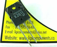2SK2611 Mosfet K2611 - Toshiba - MOSFETs - KP Components Inc