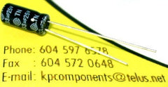 33uF 25V Capacitor High Temp Radial - G-LUXON - Capacitor - KP Components Inc