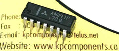 AN241P IC NTE1162 Sound IF Amplifier