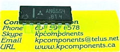 AN6554 Panasonic Quad Op Amp. IC's.