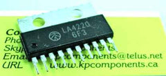 LA4220 IC Audio Amplifier