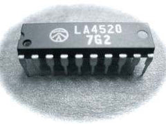 LA4520 IC Audio Amplifier