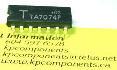 TA7074P IC TV Video Amplifier