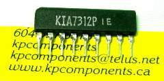 KIA7312P IC Same as TA7312P