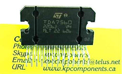 TDA7560 Audio Power Amplifier IC