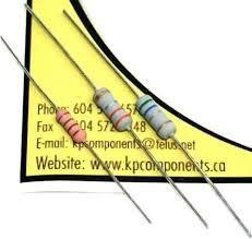 Resistor Metal Film 68 Ohm 1/4W 1% (Pack of 5)