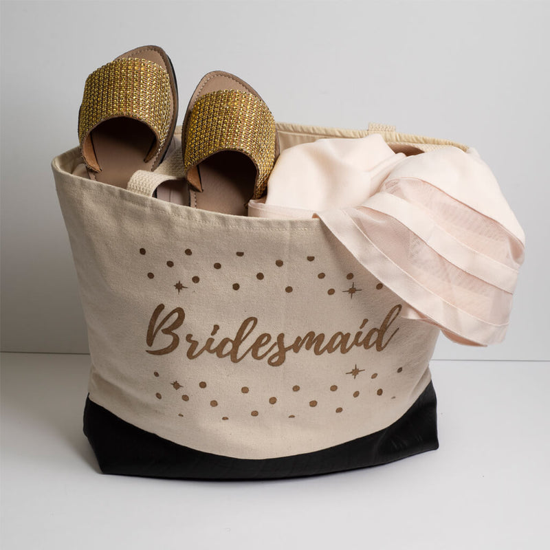 Bridesmaid Canvas Tote