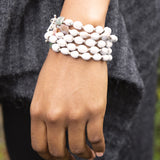 Sterling Silver Majok Stackable Bracelet