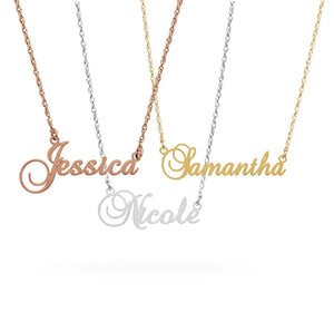 Personalized Name Necklace's