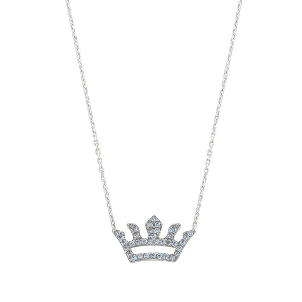 Crown Gem Necklace